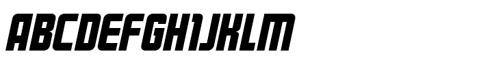 Kanal Italic Font UPPERCASE