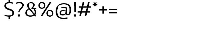 Kandin Light Font OTHER CHARS