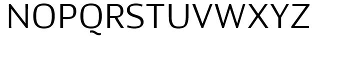 Kandin Light Font UPPERCASE