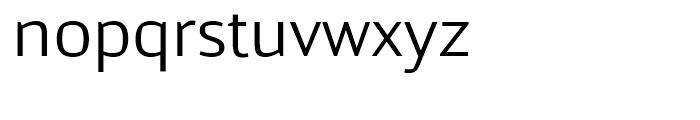 Kandin Light Font LOWERCASE
