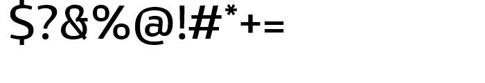 Kandin Regular Font OTHER CHARS