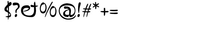 Kaos Font OTHER CHARS