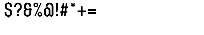 Karben 105 Bold Font OTHER CHARS