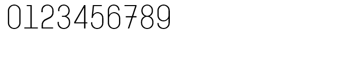 Karben 205 Mono Light Font OTHER CHARS
