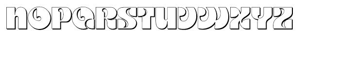 Kare Shadow Regular Font UPPERCASE