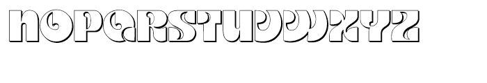 Kare Shadow Regular Font LOWERCASE