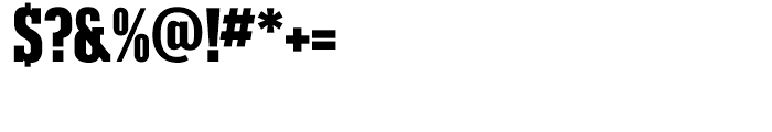 Karnak Black Condensed Font OTHER CHARS