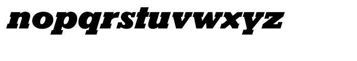 Karnak Black Italic Font LOWERCASE