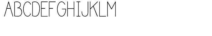 Katelyn Medium Font UPPERCASE