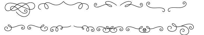 Katelyn Ornament Font LOWERCASE