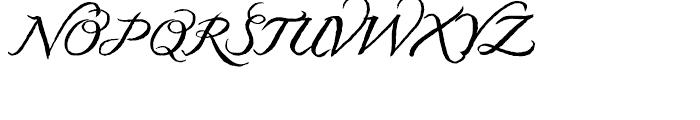 Kato Normal Font UPPERCASE