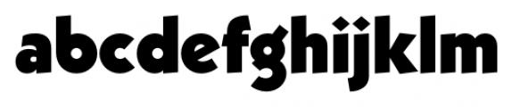Kaapeli Heavy Font LOWERCASE