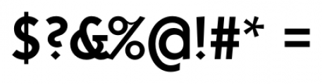 Kaapeli Medium Font OTHER CHARS