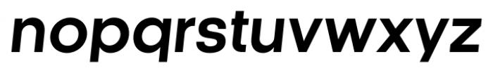 Kamerik 105 Bold Oblique Font LOWERCASE