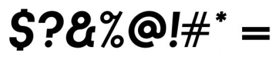 Kamerik 105 Cyrillic Bold Oblique Font OTHER CHARS