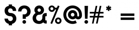 Kamerik 105 Cyrillic Bold Font OTHER CHARS