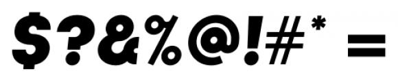 Kamerik 105 Cyrillic Heavy Oblique Font OTHER CHARS