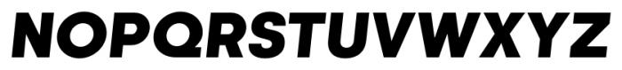 Kamerik 105 Cyrillic Heavy Oblique Font UPPERCASE