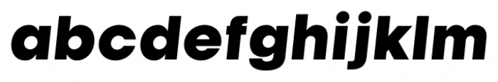 Kamerik 105 Cyrillic Heavy Oblique Font LOWERCASE