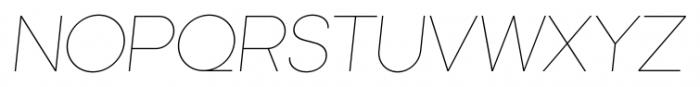Kamerik 105 Cyrillic Thin Oblique Font UPPERCASE