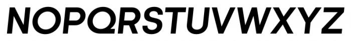 Kamerik 205 Bold Oblique Font UPPERCASE