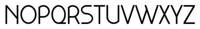 Kaodai Regular Font UPPERCASE