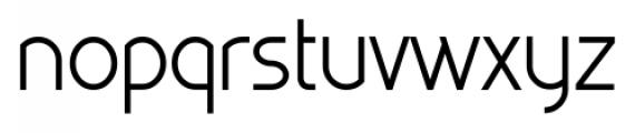 Kaodai Regular Font LOWERCASE