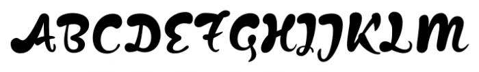 Kapelka New Regular Font UPPERCASE