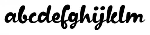 Kapelka New Regular Font LOWERCASE