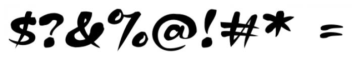 Kapelka Regular Font OTHER CHARS