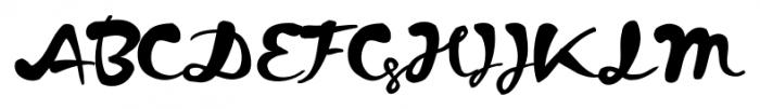 Kapelka Regular Font UPPERCASE