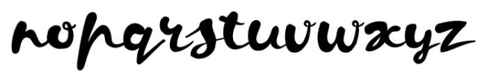 Kapelka Regular Font LOWERCASE