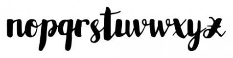 Karlita Regular Font LOWERCASE