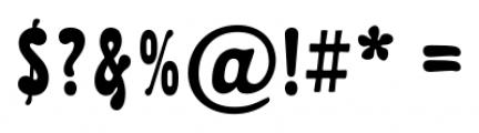 Karolla Regular Font OTHER CHARS