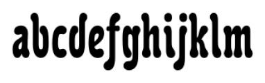 Karolla Regular Font LOWERCASE