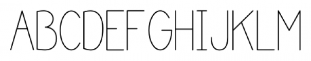 Katelyn Light Font UPPERCASE