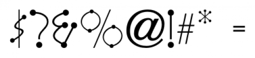 Katydid JNL Regular Font OTHER CHARS