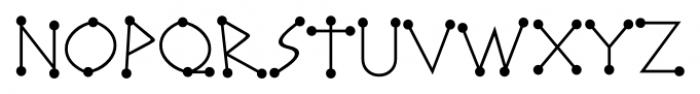 Katydid JNL Regular Font LOWERCASE