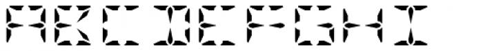 KAH Light Font UPPERCASE