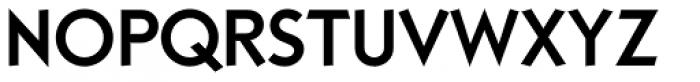 Kaapeli Medium Font UPPERCASE