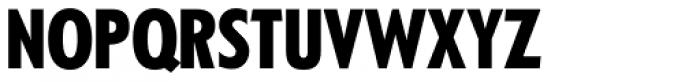 Kabel DT Condensed Black Font UPPERCASE