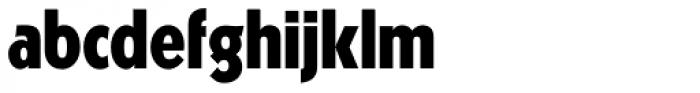 Kabel DT Condensed Black Font LOWERCASE