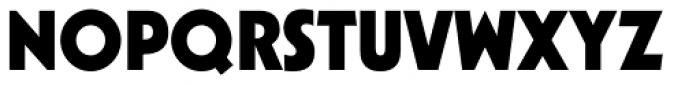 Kabel LT Std Black Font UPPERCASE