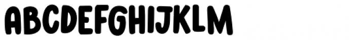 Kabouter Rotund Regular Font UPPERCASE
