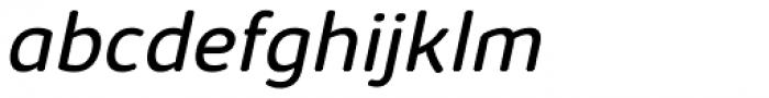 Kabrio Abarth Book Italic Font LOWERCASE