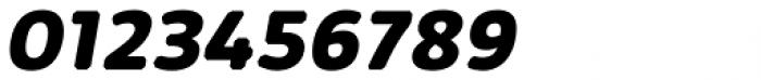 Kabrio Abarth ExtraBold Italic Font OTHER CHARS