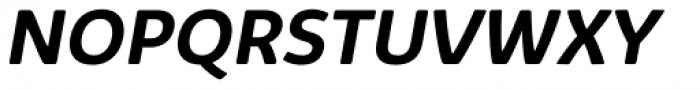 Kabrio Alternate Bold Italic Font UPPERCASE