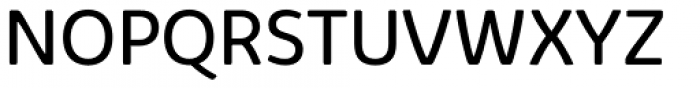 Kabrio Alternate Book Font UPPERCASE