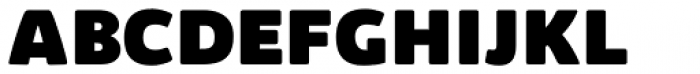 Kabrio Alternate Heavy Font UPPERCASE