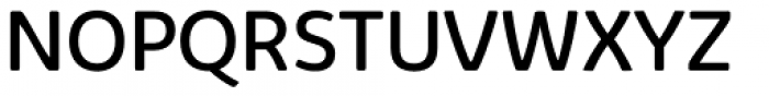 Kabrio Alternate Regular Font UPPERCASE